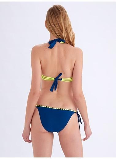 Ayyıldız Üçgen Bikini Takımı Petrol